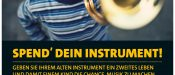 """Spend' dein Instrument!"""